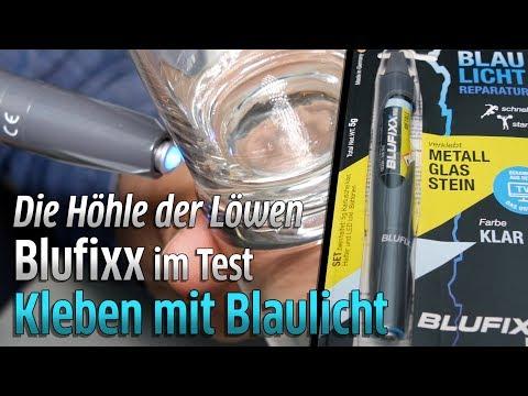Die Höhle der Löwen auf Vox: Blufixx Reparaturstift - Kleben mit Blaulicht im Test