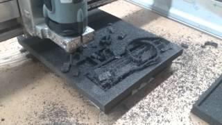 Schaumstoff Fräsen Mit High-Z CNC Fräsmaschine