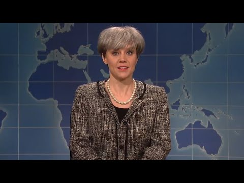 SNL's Kate McKinnon takes on Theresa May