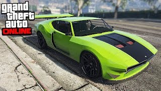 GTA Online   NEW FASTEST CAR (Lampadati Viseris)