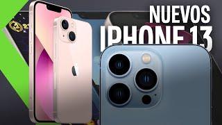 Nuevos iPhone 13 mini, iPhone 13, iPhone 13 Pro y iPhone 13 Pro Max | Menos notch y más batería