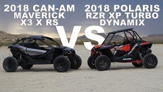 2018 Polaris RZR XP Turbo Dynamix VS Can Am Maverick X3 X RS