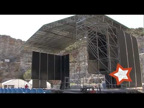 STARLITE FESTIVAL MARBELLA Montaje