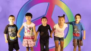 """Video thumbnail of """"A Song of PEACE For Kids   Jack Hartmann"""""""