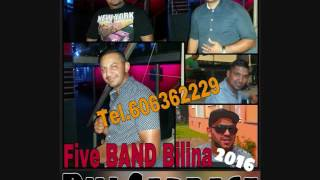 Five BAND Bilina 31.7 2016  - Duj Cardase