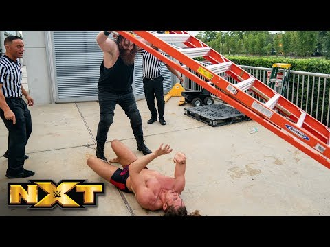 Matt Riddle and Killian Dain brawl outside the arena: NXT Exclusive, Aug. 21, 2019