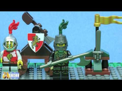 Vidéo LEGO Kingdoms 7950 : Le combat des chevaliers