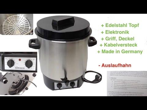 Rommelsbacher Einkochautomat KA2004E 1800 Watt - Video Rezension
