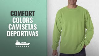 Los 10 Productos Más Vendidos De Comfort Colors: Comfort Colors Mens Chouinard Long Sleeve T-Shirt