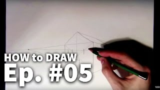 Learn to Draw #05 - Two-Point Perspective