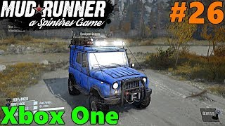 SpinTires Mud Runner, Xbox One Let's Play! Part 26 | WE BEAT DELUGE! NEW TRUCKS UNLOCKED!