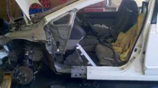 ремонт битых машин/collision repair