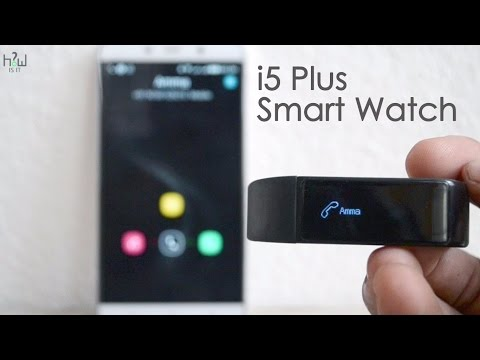 i5 Plus Smart Watch Unboxing & Review – Best Smart Band – just 20$ ?