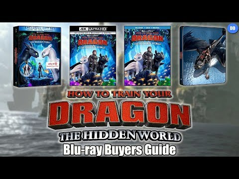 How To Train Your Dragon The Hidden World Blu-ray Release Date | Buyers Guide| Best Buy SteelBook