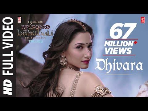 Dhivara Full Video Song || Baahubali (Telugu) || Prabhas, Tamannaah, Rana, Anushka || Bahubali