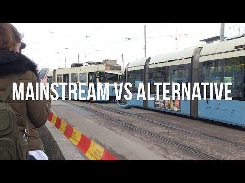 MAINSTREAM VS. ALTERNATIVE MEDIA
