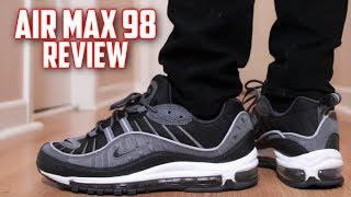 Nike Air Max 98 Anthracite Review and On-Feet