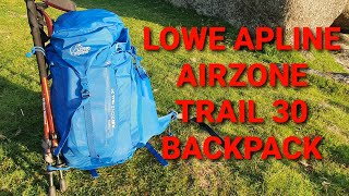 Lowe Alpine Airzone Trail 30L backpack and my other 30l packs