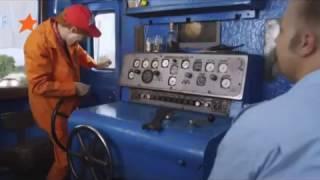 Машинист и практикант - Путевая страна