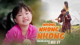 Nhong Nhong Nhong ♪ Bé MAI VY Thần Đông Âm Nhạc Việt Nam [MV Official]