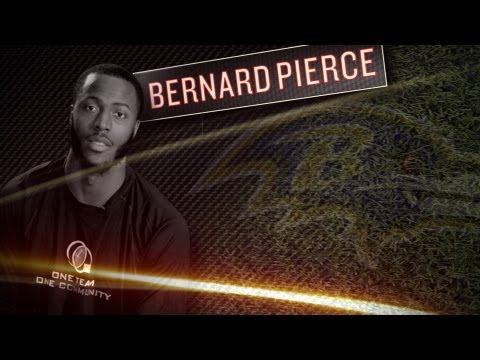 Bernard Pierce Interview - Ravens Rookie RB