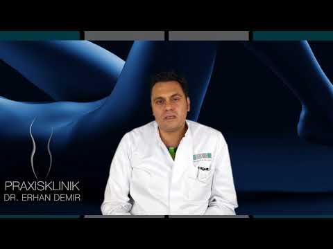 Fibrotische Bereiche in der Prostata