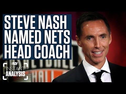 Steve Nash Named Brooklyn Nets Head Coach | Instant Analysis