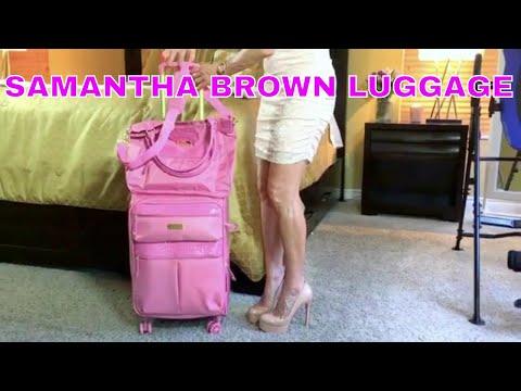 Review: Samantha Brown Luggage