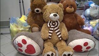 Новгородские детские учреждения получили неожиданные подарки от звезд фигурного катания