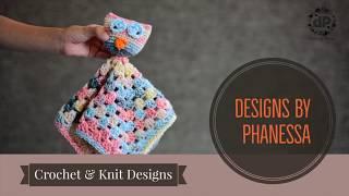 Crochet Owl Lovey Tutorial