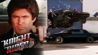KITT VS KARR - The Showdown | Knight Rider