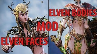Elven Faces Edits EFE   Clean Elven Bodies CEB Divinity 2 MODS