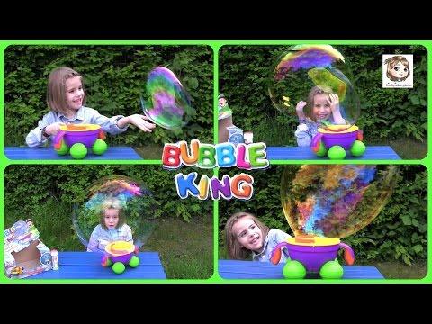 Bubble King - RIESEN SEIFENBLASEN mit dem magischen Zauberstab