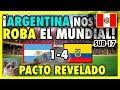 ECUADOR GOLEA A ARGENTINA - PERÚ FUERA DEL MUNDIAL SUB 17