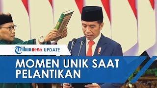 Tiga Momen Menarik saat Pelantikan Presiden, Pantun hingga Tampilan Ma'ruf Amin yang Berbeda