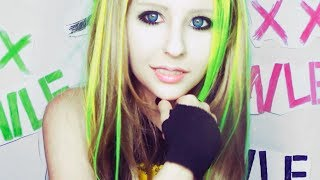 "Avril Lavigne ""Smile"" make up tutorial by Anastasiya Shpagina"