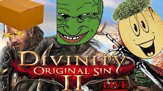 Divinity Original Sin 2 Stream  Big Boi Adventure With Friends