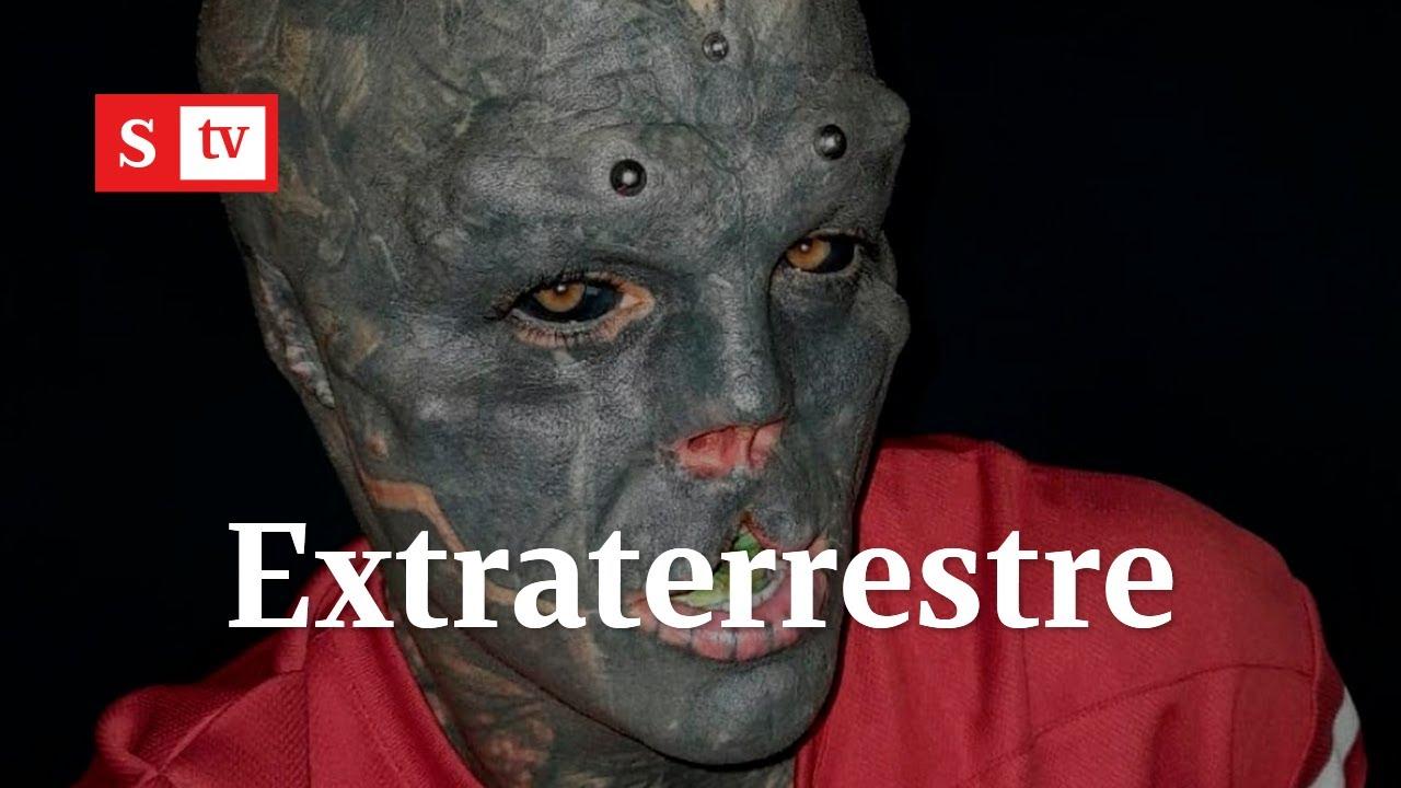 El hombre que quiere convertirse en extraterrestre | Semana Tv