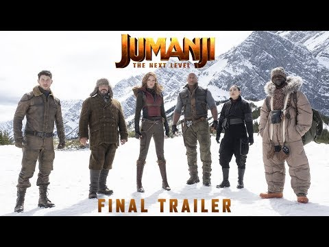 Jumanji: The Next Level Movie Trailer