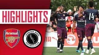 GOALS, GOALS, GOALS! | Arsenal 8 - 0 Boreham Wood | Pre-season highlights