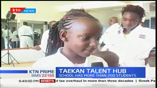 Taekan is a martial arts talent hub with more than 200 students