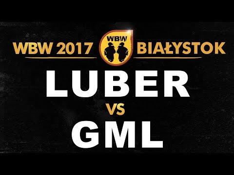 bitwa LUBER vs GML # WBW 2017 Białystok (1/2) # freestyle battle