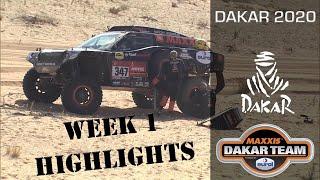 Dakar week 1 - highlights Dakar Rally 2020 in the Coronel Beast 3.0