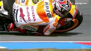 MotoGP™ Brno 2013 - rivals Marquez and Lorenzo in action