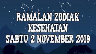 Ramalan Zodiak Kesehatan Sabtu 2 November 2019