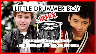 Justin Bieber - Drummer Boy - Cover by TJ Prodigy ft. Tae Brooks Performance Cut + Bloopers