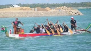 2 10pm mixed heat - Hilera Kugtong United (HKU) - 2016 City of Bogo Invitational Dragon Boat Race