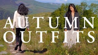 5 EARLY AUTUMN OUTFITS | Fall Travel Lookbook