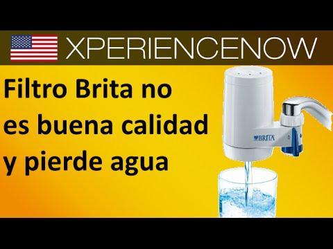 filtro Brita no es buena calidad y pierde agua