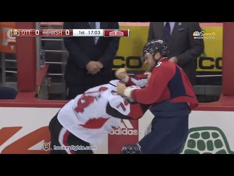 Mark Borowiecki vs Tom Wilson